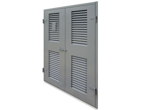 Heavy Duty Louvred Door