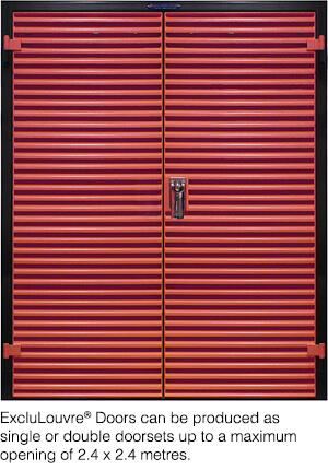 ExcluLouvre Doors
