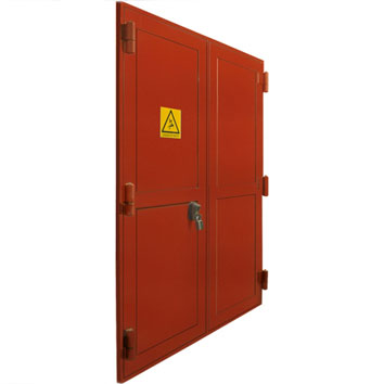 FireLock® double doorset.