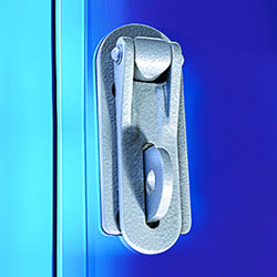 Sunray 6000 Hasp and Staple for emergency exit doors