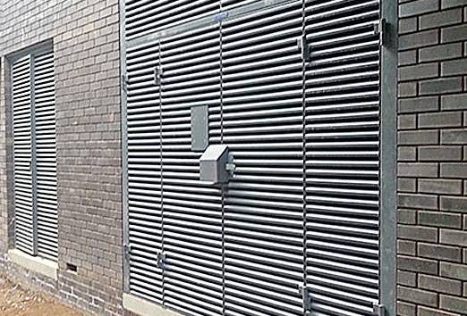 Steel Louvre Doors Security Steel Louvres Sunray