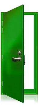 ExecDoor® 1 single doorset.