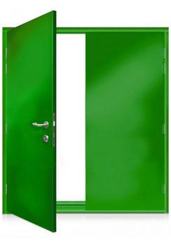 ExecDoor® 1 double doorset.