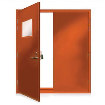 ExecDoor® 2 double doorset.