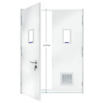 ExcluDoor® 3 Mk 2 'extra high' option.