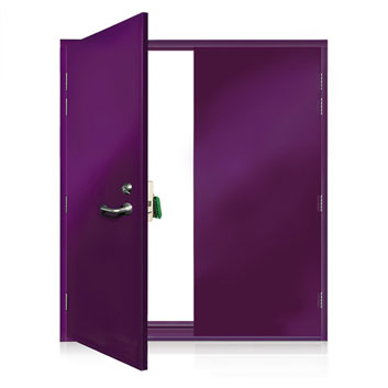 ExcluDoor® 3 double doorset.