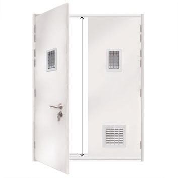 ExecDoor® 4 Mk 2 extra high double doorset