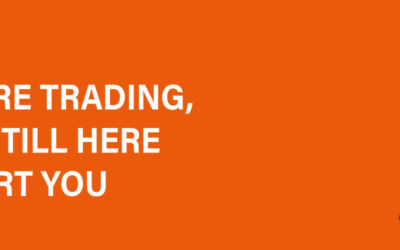 We are trading!