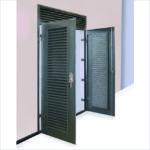 VentaDoor double doorset with ventilated overpanel.