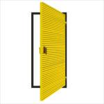 ExcluLouvre® Door 3 single doorset.