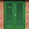 Green Security Door